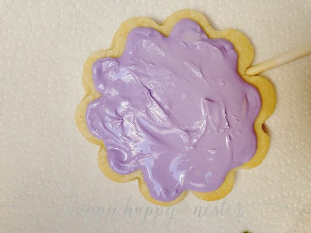 Cookie Icing rough