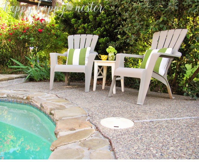 how to paint plastic chairs chair pool floats annie sloan chalk and outdoor happy nester