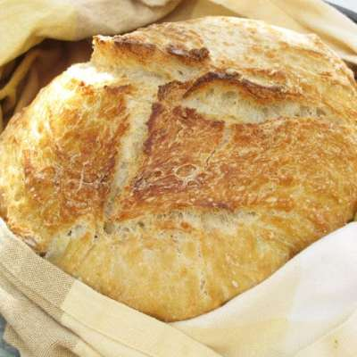 Easy Pinterest Recipes, No-Knead Bread and Two Ingredient Fudge