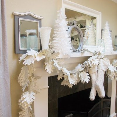 DIY Home Decor. Paper Garland