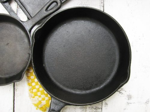 cast iron close up