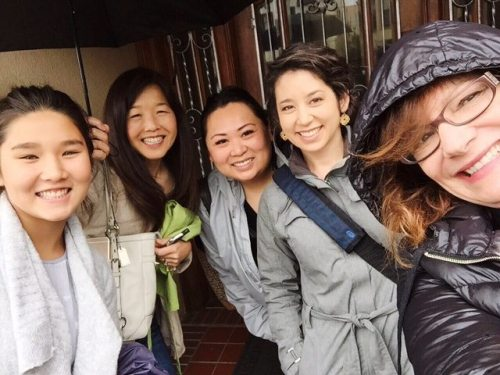 unique experiences group photo