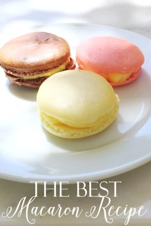 This recipe is from a French pastry chef and the macarons melt in your mouth. They are like no other macaron I have tasted. I have included all his wonderful tips to making a successful cookie. Enjoy!