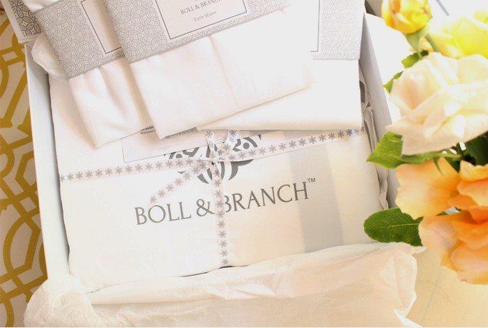 Boll & branch ribbon shot