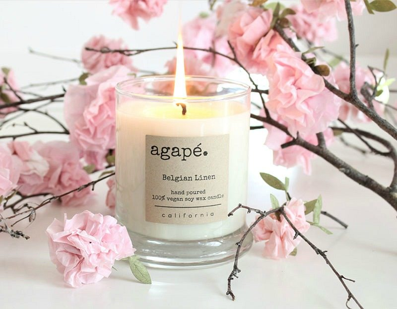 The perfect soy vegan candle