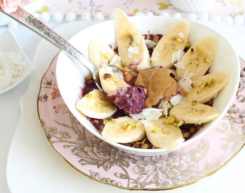 acai bowl protein snack