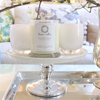 The Hill Collection Candles have a wooden wick that crackles like a wood fire when lit. The candles have heavenly fragrances that beautifully fill a room.