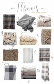Shop My Favorite Winter Throws