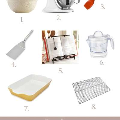 8 Kitchen Tools That Will Make Baking Easy