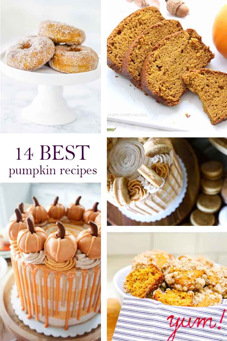 Great pumpkin recipes are sometimes challenging to find these days. This post contains the best pumpkin recipe roundup, and they all come from my friends. These tested dishes are favorites among our families and friends, so you know they are yummy. #pumpkinrecipes #bakingwithpumpkin #pumpkinreciperoundup