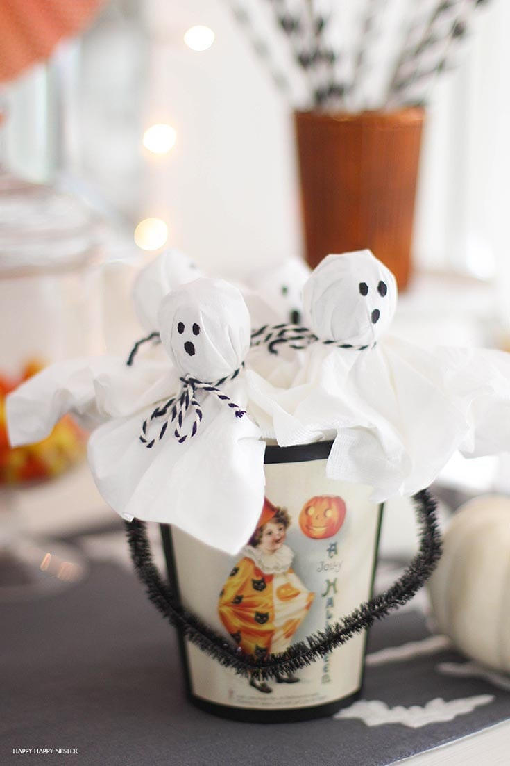 lollipop ghosts are so easy to make with step by step tutorial