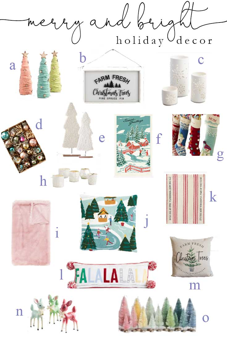 Merry and Bright Holiday Decor | Christmas Shopping | Holiday | Holiday Shopping | Online Shopping | Holiday Home | Shopping for the Holidays | Holiday Decor | Christmas Decor