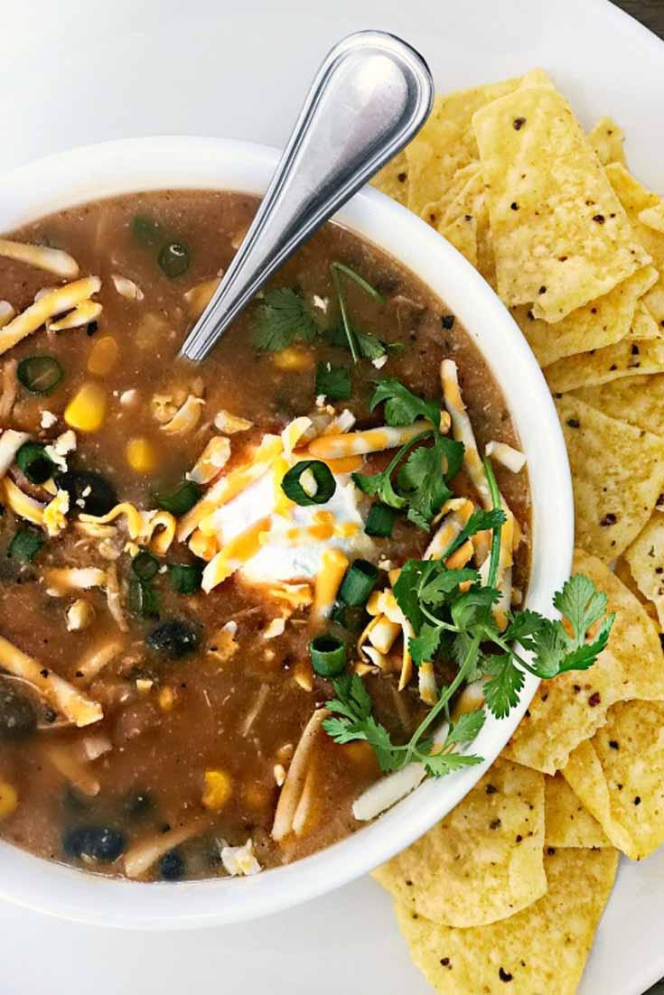 Easy Taco Instant Pot Soup