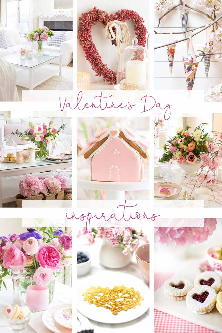 There is a little of something for everyone on this 8 DIY Valentine's Day Ideas. It includes crafts, recipes, table decorating, and decorating. If you like creating your own Valentine's dinners, floral arrangements then this post is for you. Valentine's Day | Valentine's Crafts | Valentine's Day Ideas | Valentine ideas