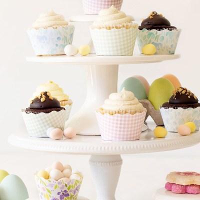 DIY Easy Cupcake Wrapper Tutorial