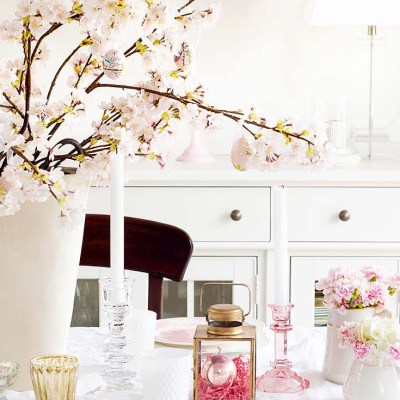 Pretty Pink Spring Home Tour