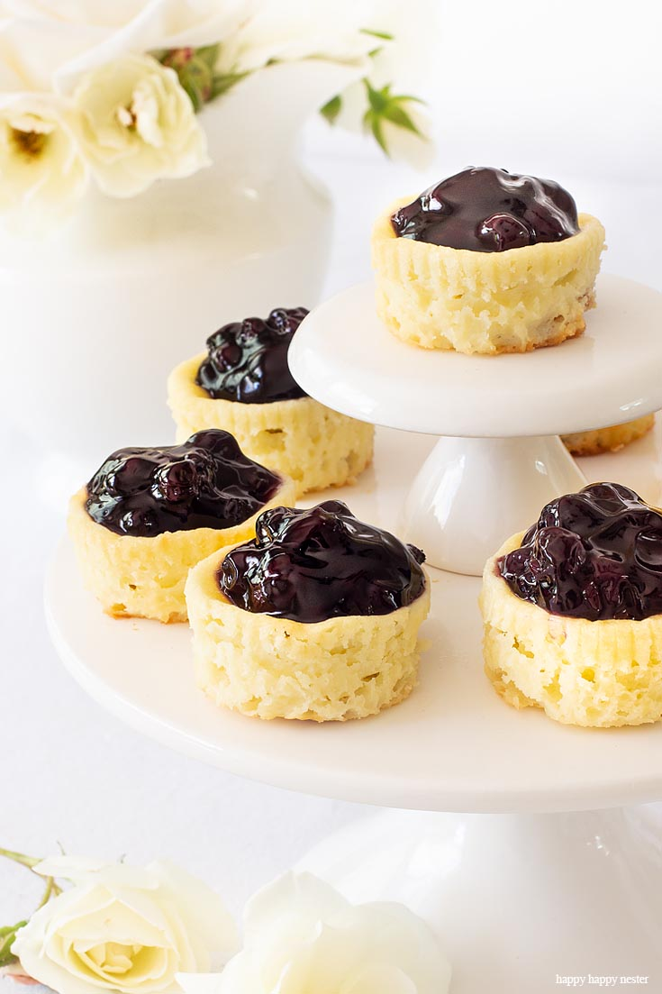 This Mini Cheesecake Recipe is the best!