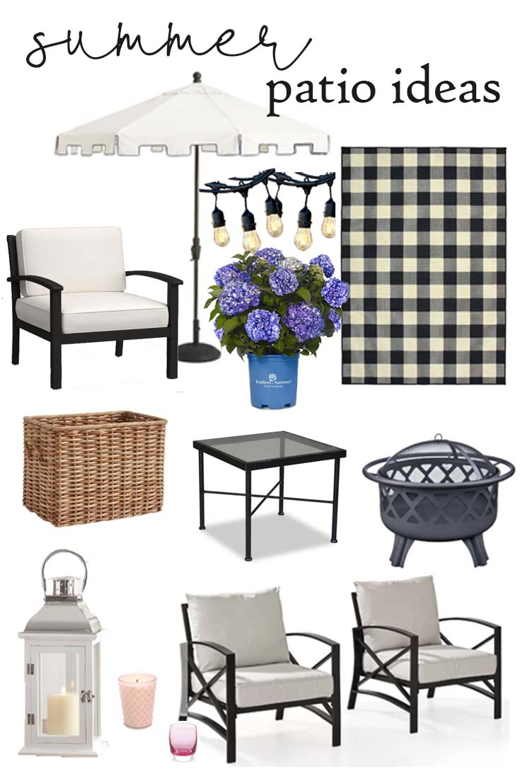 Shop these wonderful outdoor decor and create a cozy outdoor living space for summer. These patio ideas will transform your patio to a beautiful living room. #decor #decorating #outdoorlivingspace #patioideas #summerpatios