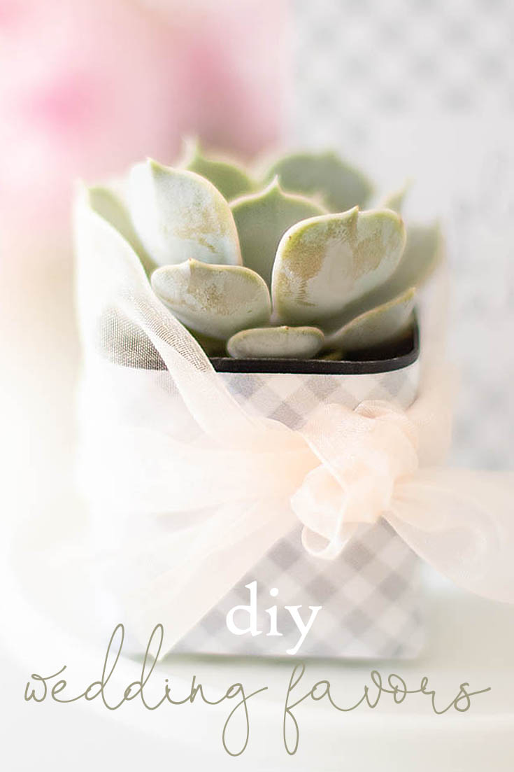 This cute DIY Succulent Wedding Favors project is so adorable and easy peasy. They make great wedding or a hostess gift this is the perfect project for you.