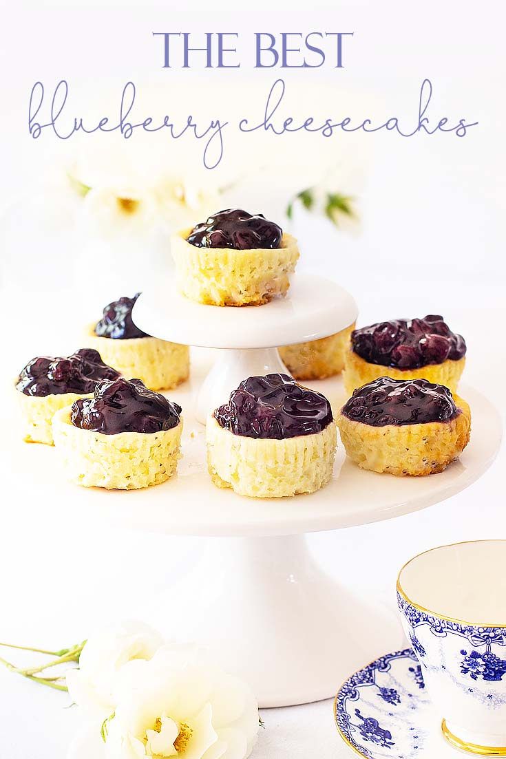 This Mini Cheesecake Recipe is easy to make and it is unbelievably delicious. It's a perfect blend of fruit and cream cheese. #dessert #cheesecake #recipe