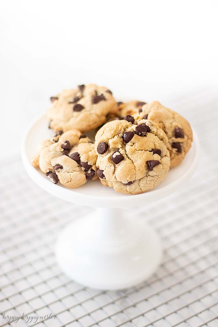 I'm certain you have never had a chocolate chip cookie like this one! This is the Best Crunchy Crispy Chocolate Chip Cookie that I remember from my childhood. If you like a chunky cookie packed with chocolate chips then you'll absolutely love this recipe. It is unique cookie and definitely a family favorite. #cookie #chocolatecookie #baking #cookierecipe #bestcookie #bestchocolatechip