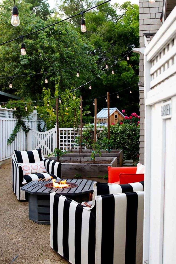 Backyard Decorating Ideas For A Summer Party Happy Happy Nester