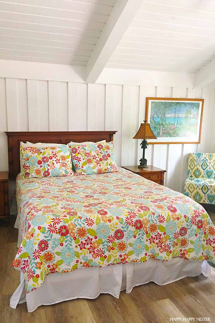 This cute Kauai beach cottage was so fun to stay at. Check out this informative trip on where to stay in Kauai Hawaii. #vacations #summertrips #hawaii #travel #tropical