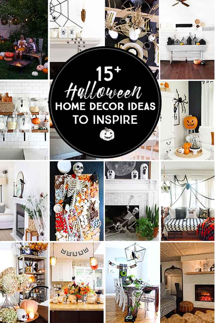 Cute Ideas for Halloween Decorations Happy Happy Nester