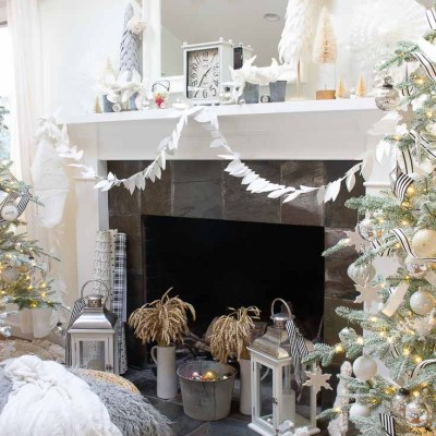Mantel Decor For Christmas