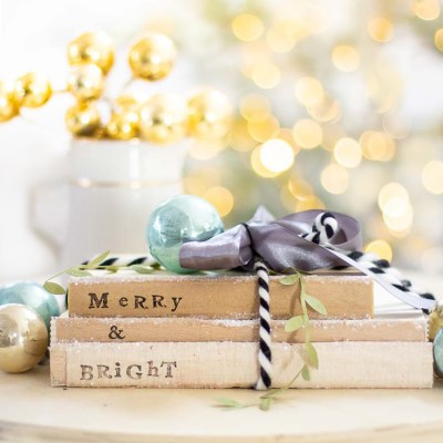 DIY Christmas Craft Book Project