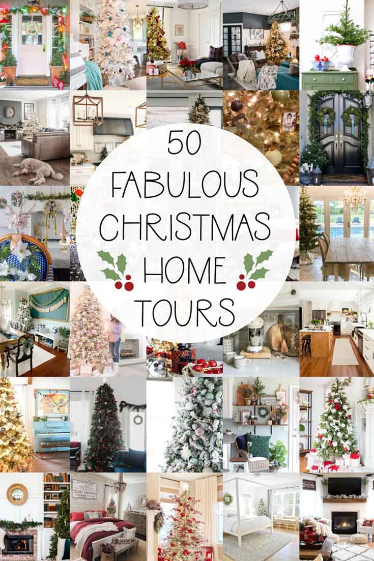 Check out this round-up of Christmas Dining Room Decorations. These styles range from winter white to vintage pink table decor. Lots of Christmas table ideas. #christmastable #christmasdecorating #holidaydecorating