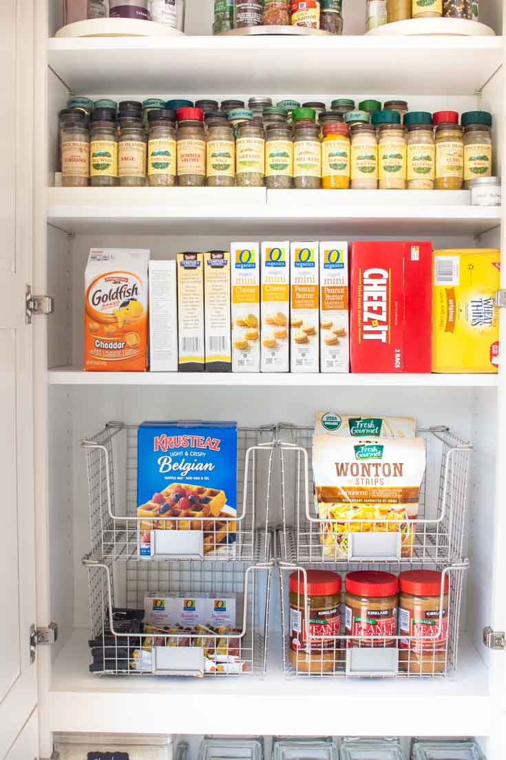 The Container Store Pantry items