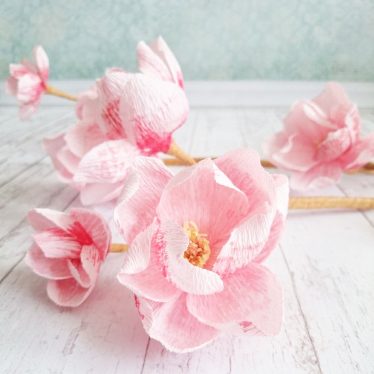 Where to buy crepe paper flowers on Etsy.