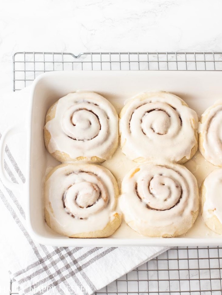homemade cinnamon rolls recipe from scratch