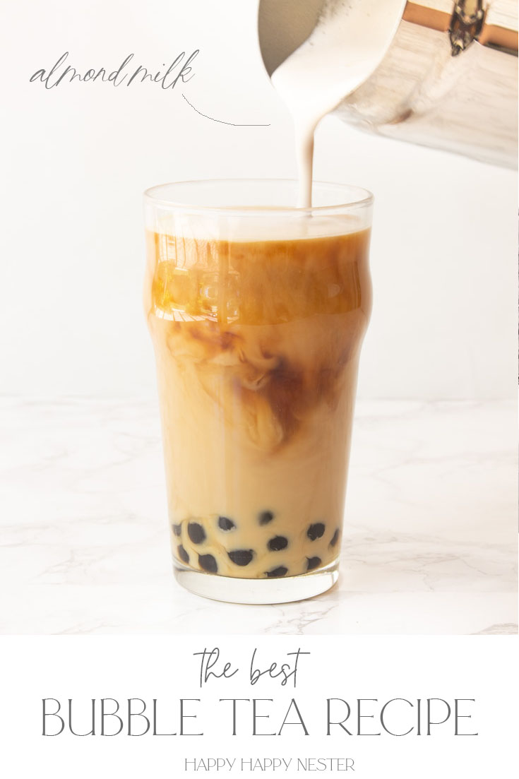 how to make bubble tea recipe