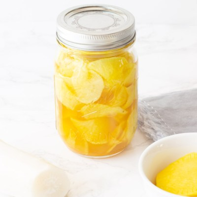 Pickle Recipe : Sweet Pickled Daikon Takuan