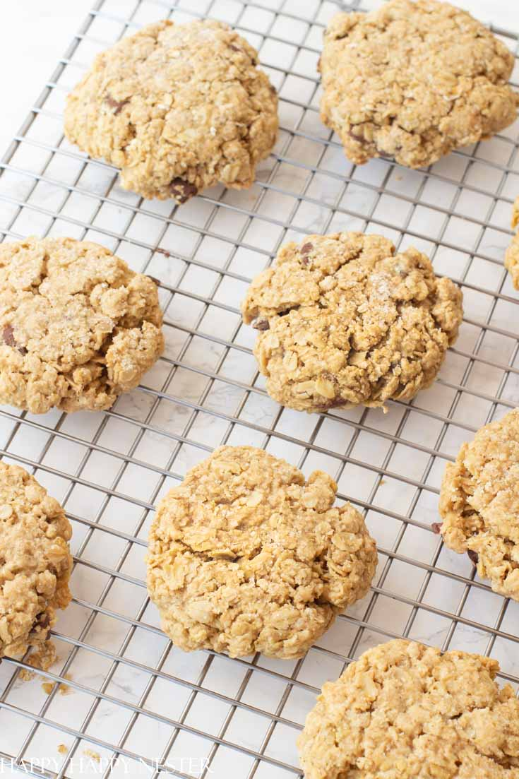 a chunky big oatmeal cookie that is a family favorite recipe
