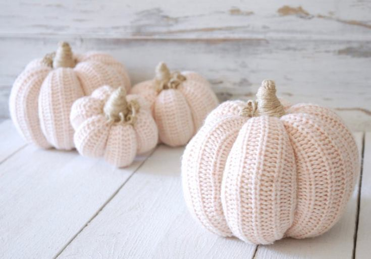 20 cutest fabric pumpkins roundup