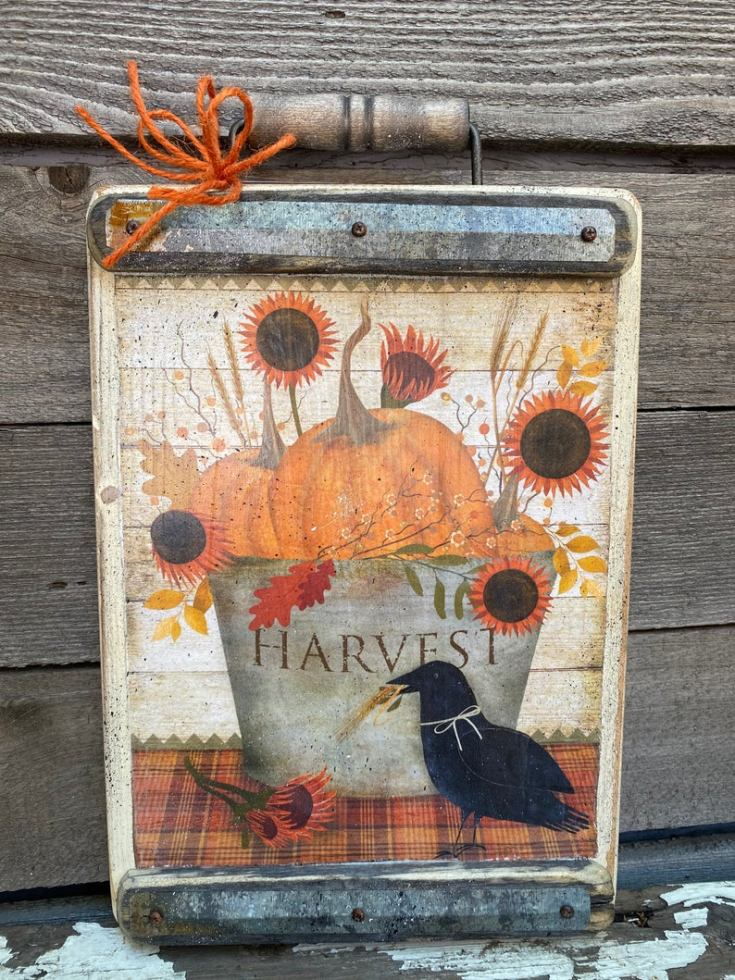 primitive fall sign