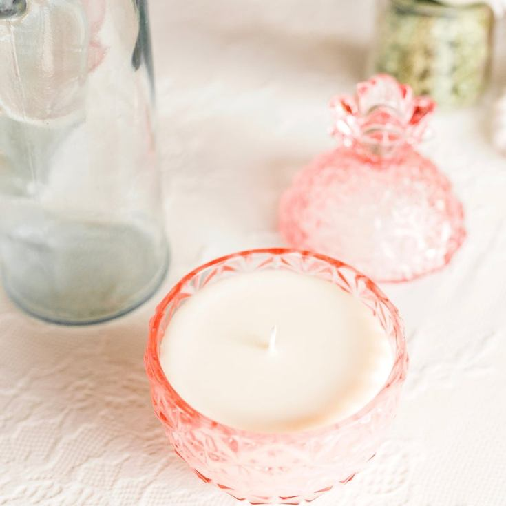 pretty vintage candles for the home