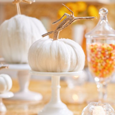 How to Make a Wool Pumpkin with Chunky Wool