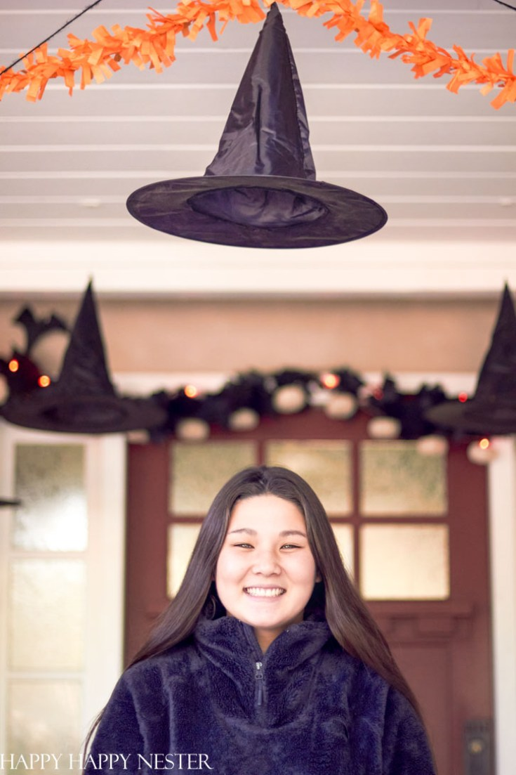 magical and easy Halloween porch decor