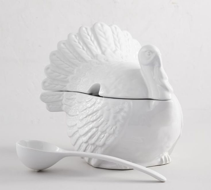 turkey soup tureen