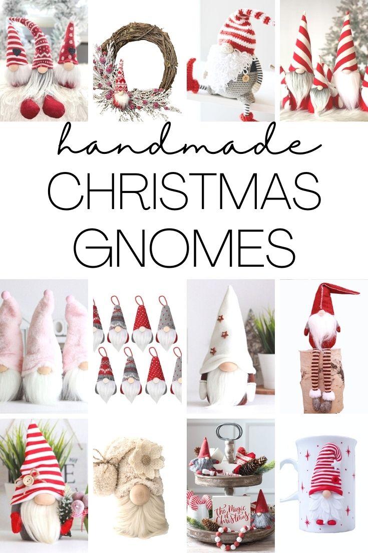 christmas gnomes pin