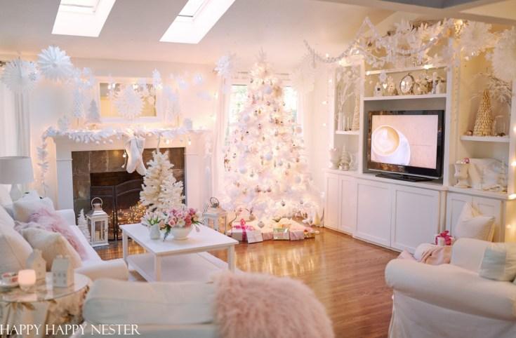winter wonderland Christmas decorations