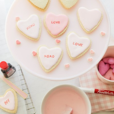 Valentine Sugar Cookies Decorating Ideas