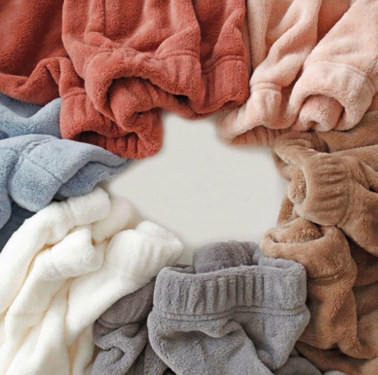 lovely plush soft sweatpants