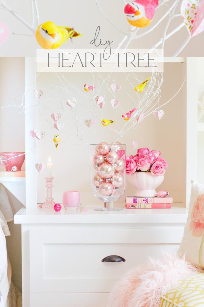 Valentine's Day Heart Tree DIY