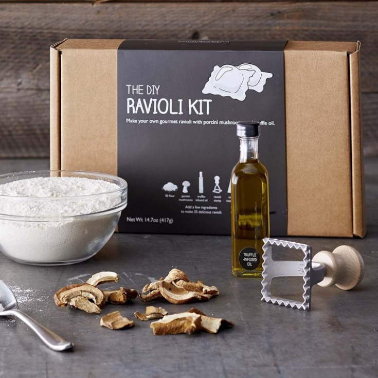 ravioli pasta diy food kit