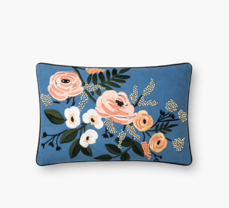 Rifle Paper Co pillows